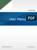 User Manual - SM-T377W