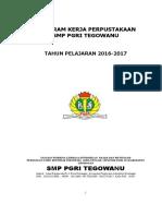 Daftar Isi Proker Kesiswaan 2016-2017