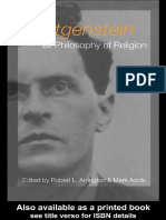 Arrington&Addis - Wittgenstein and Philosophy of Religion 2003