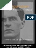 Arrington&Addis - Wittgenstein and Philosophy of Religion 2003