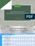 Pencegahan Dan Pengendalian Penyakit (p2p)