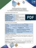 Guía de Actividades y Rubrica de Evaluación-paso 2-Realizar Propuestas de Rediseño de Un Producto