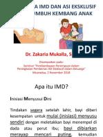 Pentingnya IMD Dan ASI Eksklusif Untuk Tumbuh Kembang Anak BAGIAN 1