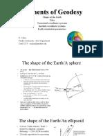 Elementos de Geodesia