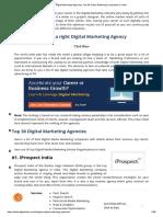 Digital Marketing Agencies_ Top 30 Online Marketing Companies in India