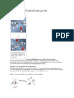 Apertura de  epoxidos Oxaciclopropanos