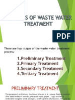 Methods of Waste Water Treatment