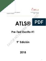 Atls Pre-test 2018