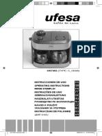 Ufesa CK7355 Espresso Machine