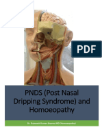 PNDS and Homoeopathy