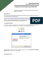 Guía de Instalación y Configuración de Oracle 11g Express V2