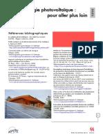 Fiche References - Les Energies Renouvelables - Pour Aller Plus Loin Soleil