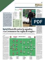 La Provincia Di Cremona 23-02-2019 - Serie B