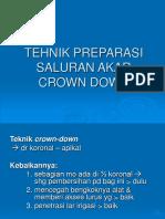 Crown Down Tehnik