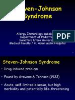 10.Steven Johnson Syndrome