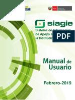 Manual Siagie 2019