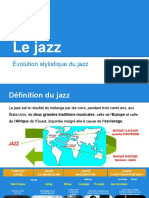 Evolution Stylistique Du Jazz