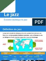 Evolution Stylistique Du Jazz