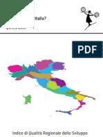 QUARS Come si vive in Italia?-Indice di Qualità Regionale dello Sviuppo