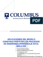 APLICACIONES DEL MODELO CONSTRUCTIVISTA EN EL SIGLO XXI