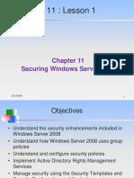 CIS Win2003 MS Benchmark v2.0
