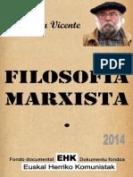 2014 Filosofia Marxista Inaki Gil de San Vicente