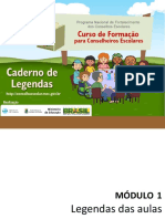 Caderno de Legenda Do Cursista