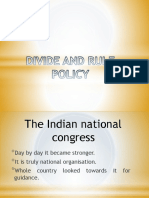 British Policy for India