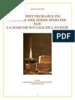Anna Blackwell - Les Idées Spirites Sur La Marche Sociale