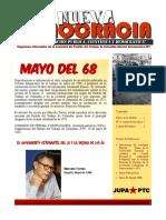 Mayo Del 68 JUPA 2018