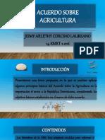 Acuerdo Sobre Agricultura