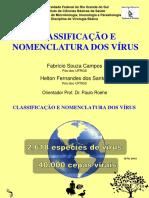 Classificação e Nomenclatura Dos Vírus