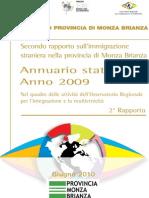 Secondo Rapporto Immigrazione Straniera Provincia Monza e Brianza - giugno 2010