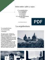 Investigación de Las 7 Artes A través de Los Años 1980 y 1890 en El Mundo.