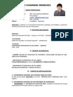Ficha de Datos - Programa de Prácticas 2019 Las Bambas