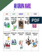 Orar Grupa Mare 2018-2019