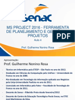 Aula 5 Microsoft Project 2016