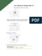 Sincronizacion de Motor Kia 1.4
