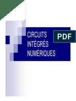 Circuits Integres Numeriques