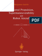 VECTOR PROPULSION, SUPERMANEUVERABILITY AND ROBOT AIRCRAFT by Benjamin Gal-Or