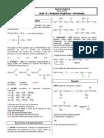 Química Orgânica - CASD - Aula12 Reações Orgânicas - introdução