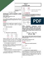 Química Orgânica - CASD Vestibulares - Simulado 02