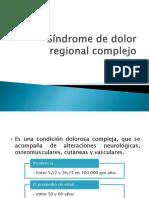 Sindrome de Dolor Regional Complejo