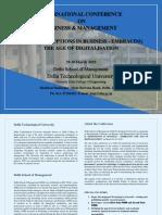 z DTU ICBM 2019 Brochure