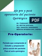 Preparacion Del Paciente Para El Quirofano