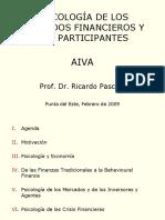 2009 Feb Psicologia de Los Mercados Financieros y Sus Participantes AIVA