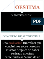 Autoestima y Motivacion