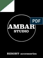 Ambar Studio - Resort Accessories