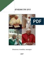 Papa Benedicto XVI - 2007