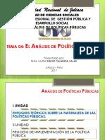 04. QUe Es El Analisis de Politicas Publicas
